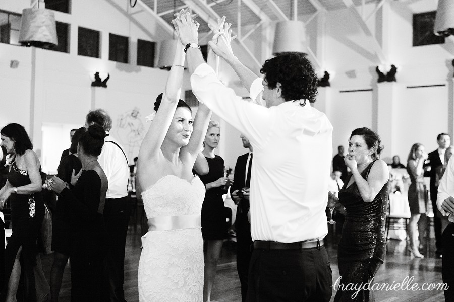 bride dancing, wedding by Bray Danielle Photography