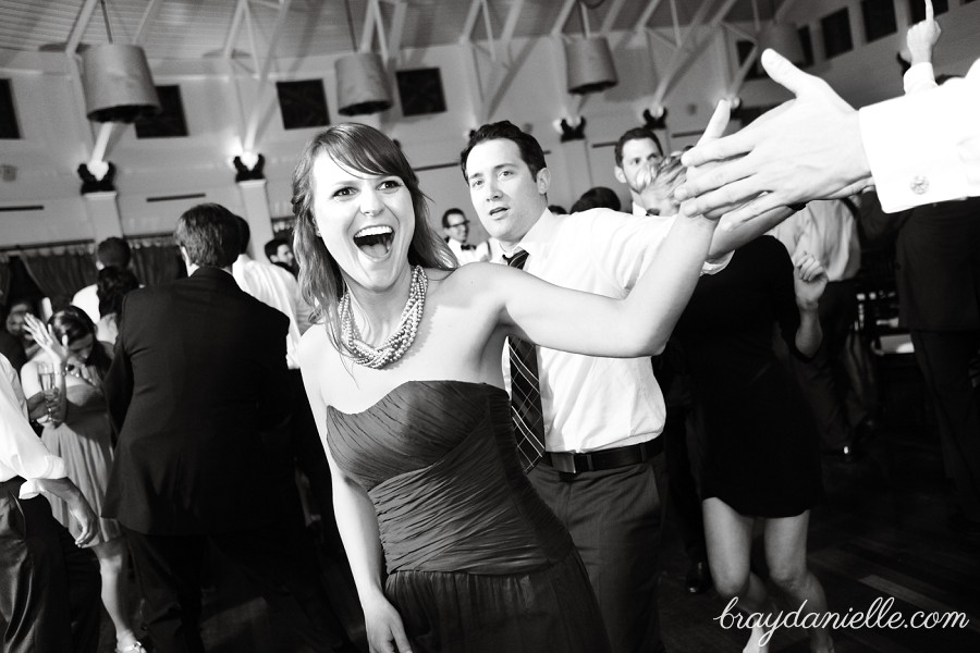 high five wedding guest, wedding by Bray Danielle Photography