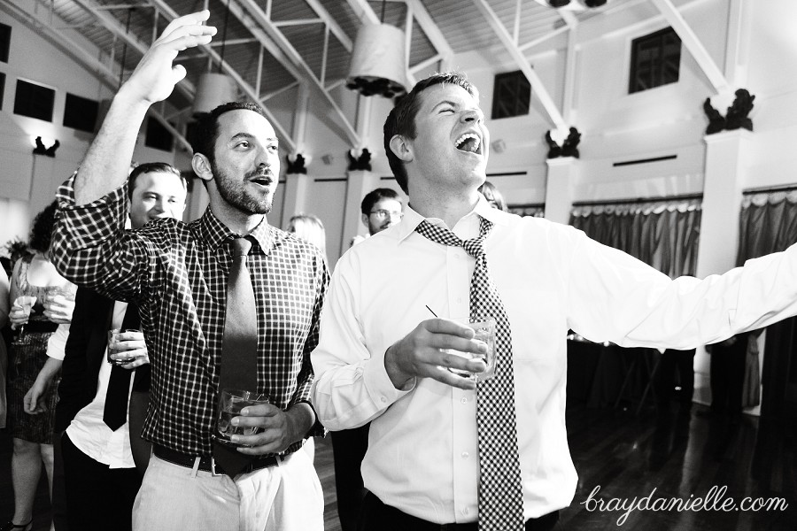 wedding guests celebrating, wedding by Bray Danielle Photography