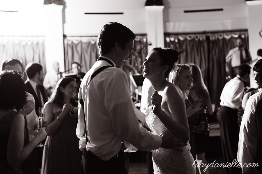 bride and groom dancing, wedding by Bray Danielle Photography