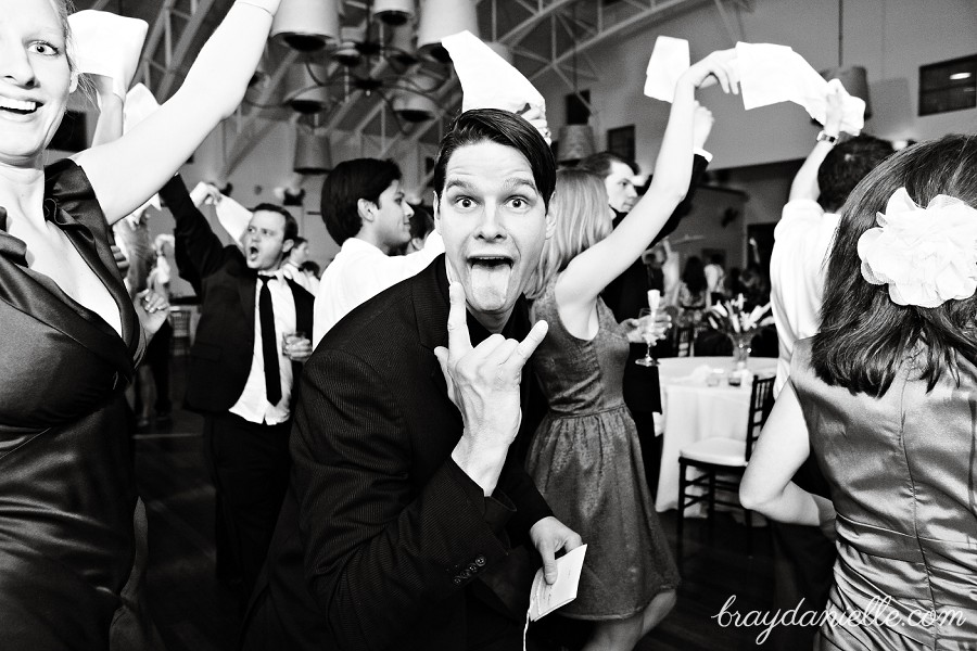 Funny wedding guest photo, wedding by Bray Danielle Photography