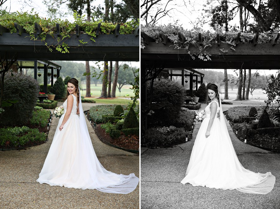 Anne 39 s bridal portraits at baton rouge country club in for Wedding dress baton rouge