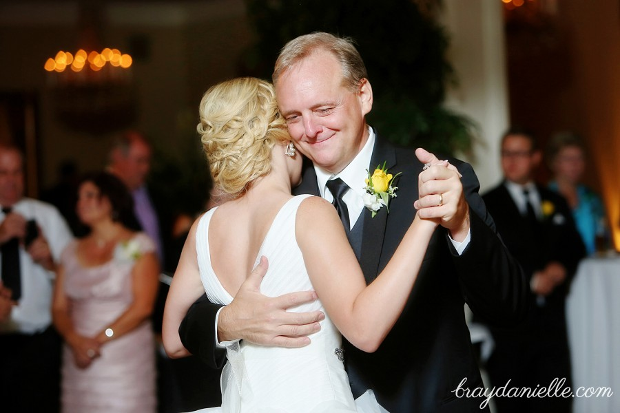 father of the bride dancing with bride