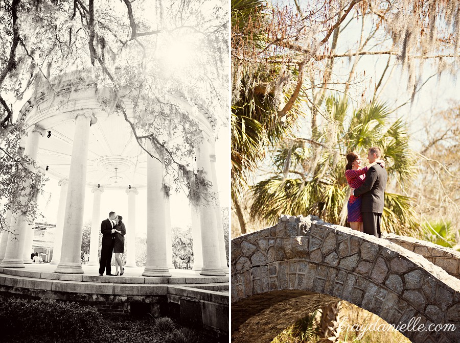 Erica Joseph Engaged At City Park In New Orleans La Bray Danielle Photography Baton Rouge Wedding Photographer