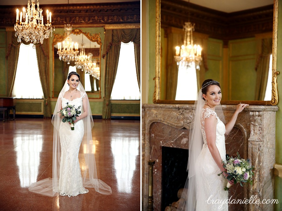 Janes Bridal Portraits At The Old Governors Mansion In Baton Rouge LA Wedding Photographers