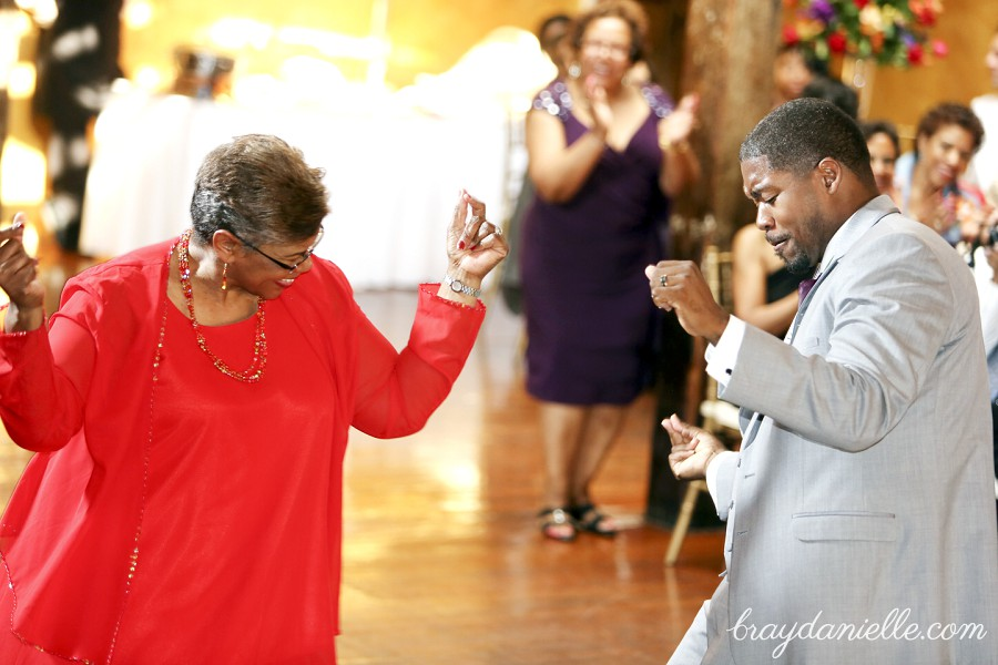 mother of the groom dancing