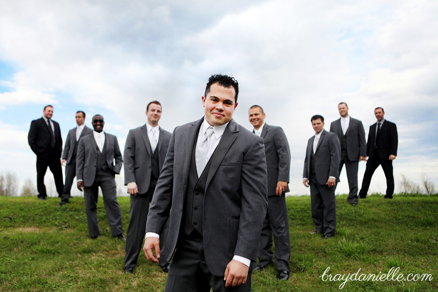 Nontraditional Groomsmen portrait