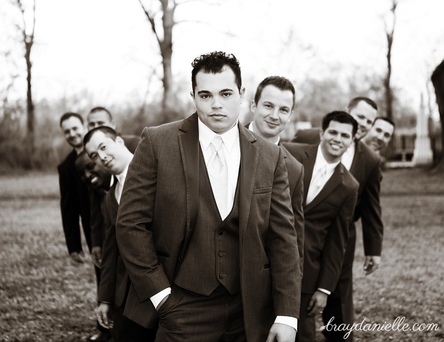 Nontraditional Groomsmen photo