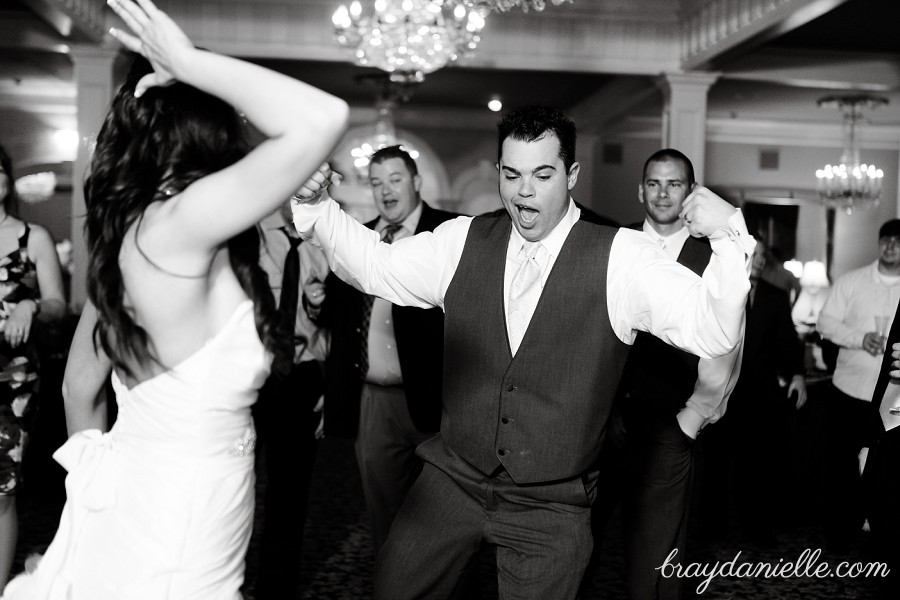 fun groom dancing