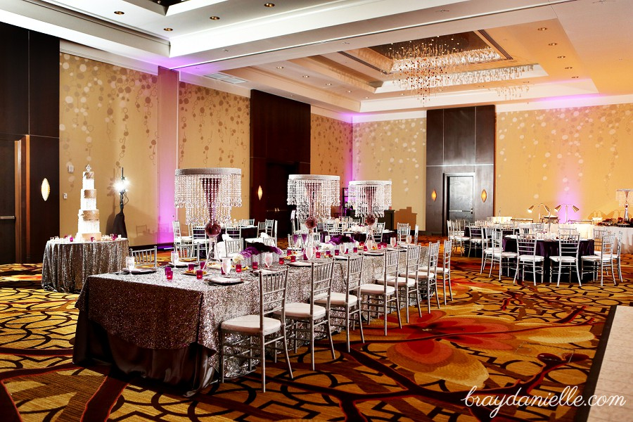 High End Wedding Decor By Bray Danielle Photography At The Renaissance Hotel In Baton