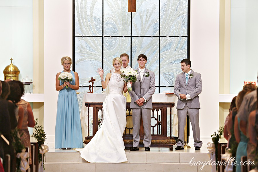 Carol Ann Blake Married At St Jude And The Baton Rouge