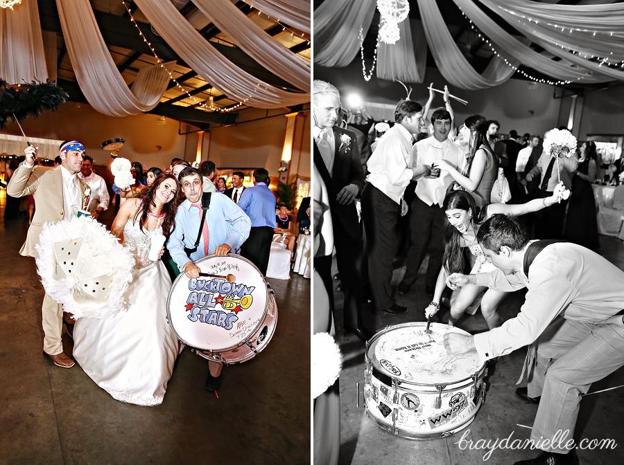 Jessica Brandons Wedding At St John The Baptist Reception At