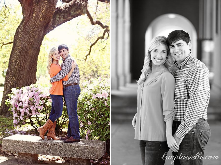 Kimberly Amp Landon Engaged At Lsu In Baton Rouge La Baton