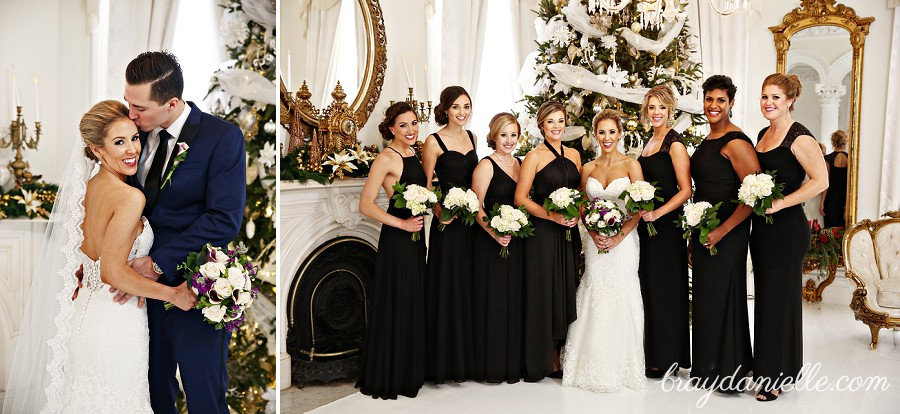 Abbey Todd Married At Nottoway Plantation In White