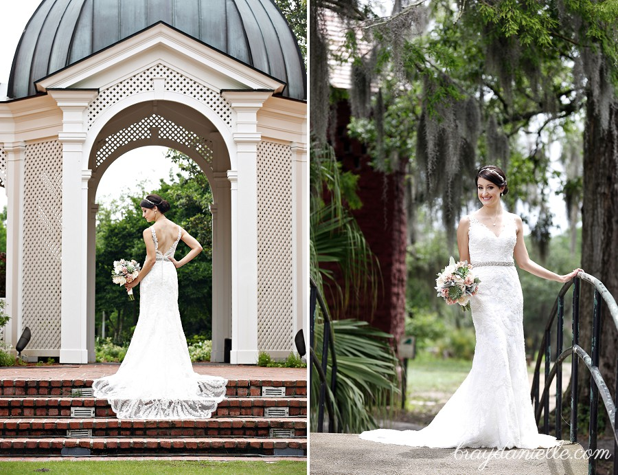 Hali S Bridal Portraits Were Taken At City Park In New Orleans La She And Andrew Tied The Knot On January 16th 2016